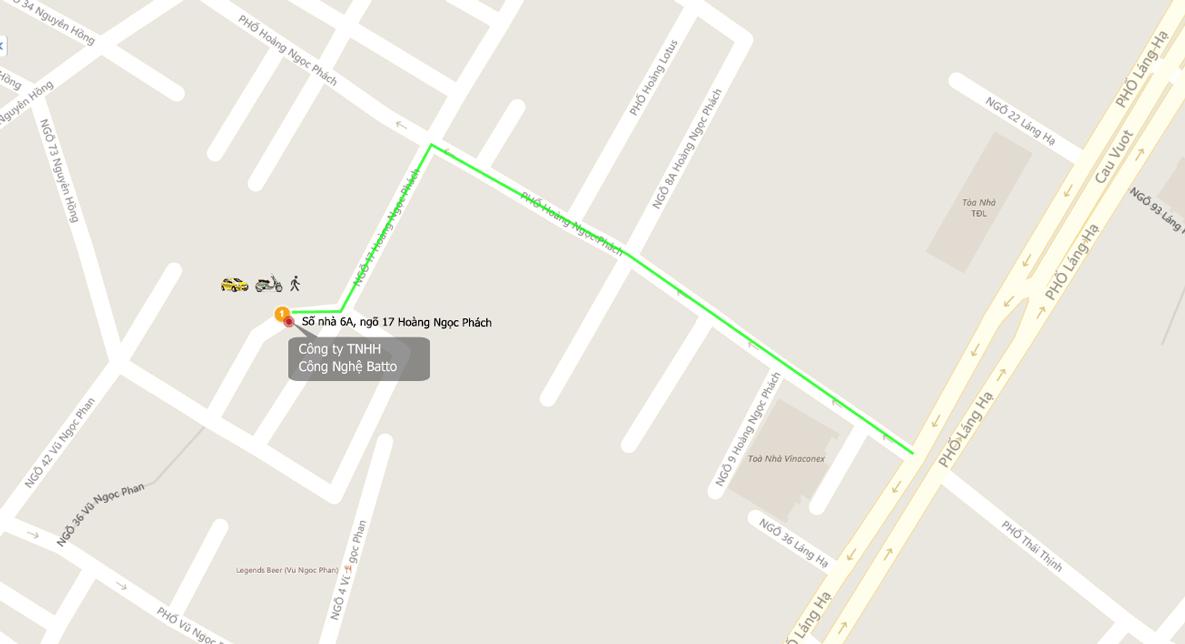 Bản đồ tới homematic.vn