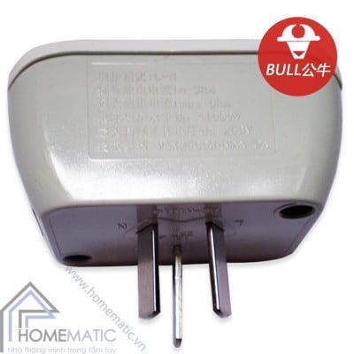 Ổ cắm điện chống sét Bull GN-H1010