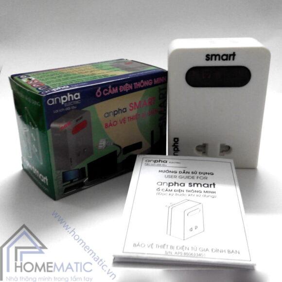 Ổ cắm điện thông minh Anpha Smart
