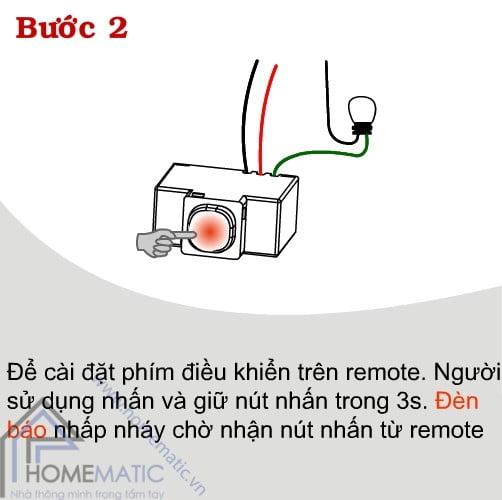 Công tắc điều khiển từ xa TPE RC1S