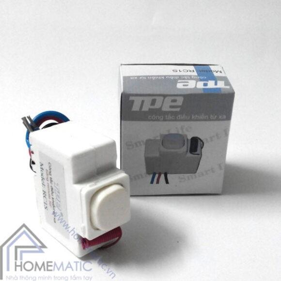 Công tắc điều khiển từ xa IR + RF TPE RI01