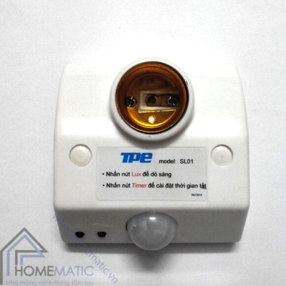 Đui đèn cảm ứng chuyển động TPE SL01