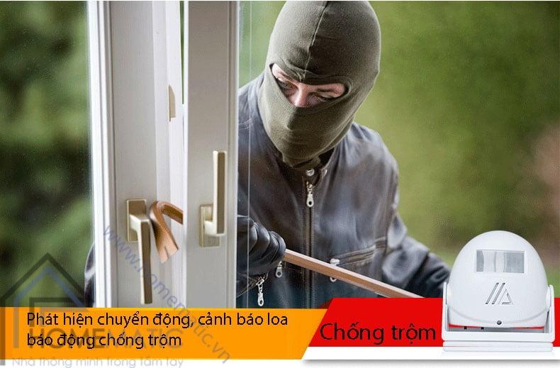 Chuông báo khách báo trộm cảm ứng chuyển động LK-5301