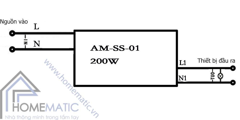 Công tắc cảm biến chuyển động tầm gần Allmay AM-SS-01