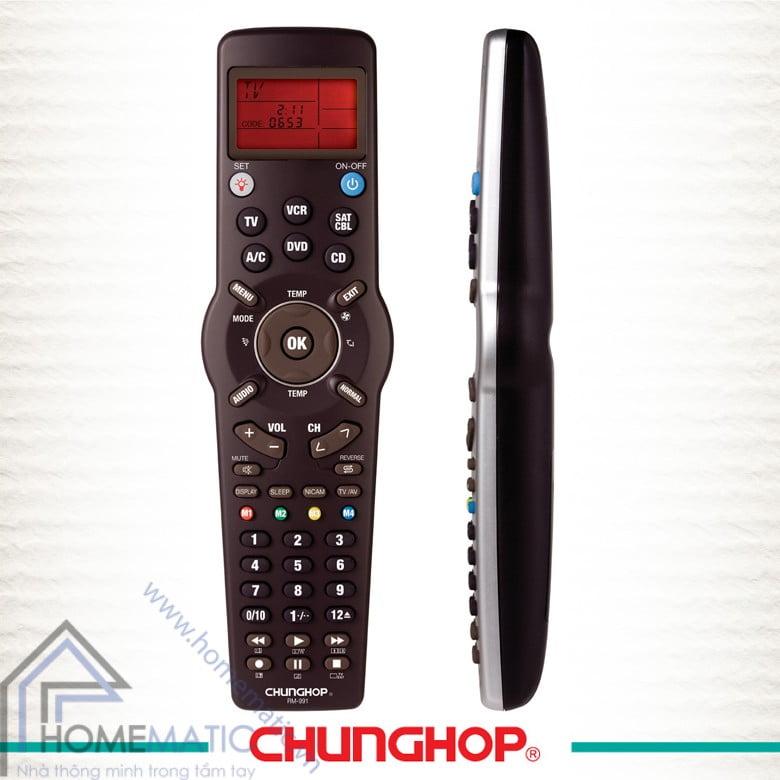 Điều khiển đa năng học lệnh thông minh Chunghop RM-991