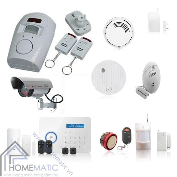 Các thiết bị, hệ thống giám sát, báo động, cảnh báo thông minh từ nhiều mối nguy từ con người như trộm cắp đột nhập, đến các sự cố mất an toàn như dò gas, cháy nổ .... lắp đặt đơn giản, hiệu quả giúp cho cuộc sống của bạn an toàn và yên tâm hơn width=