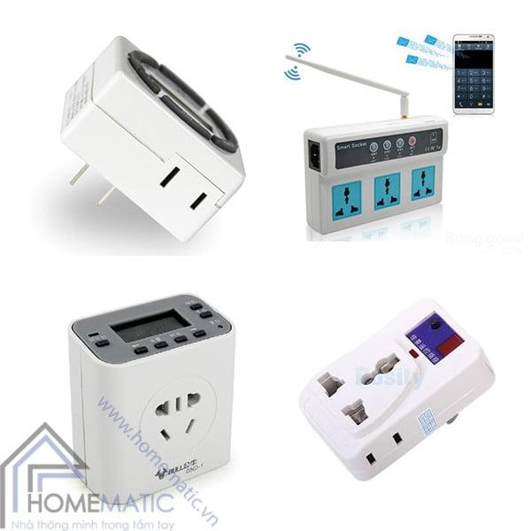 Ổ cắm đa tiện ích thông minh - người bạn đồng hành của những thiết bị điện trong nhà của bạn, biến những thiết bị thông thường thành các thiết bị có tính năng thông minh thông qua việc điều khiển ổ cắm từ xa hoặc qua các cảm biến tự động trang bị trên ổ cắm. width=