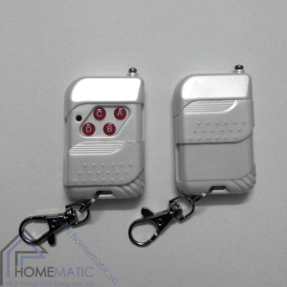 remote điều khiển RF dùng chip EV1527 màu trắng ngọc trai