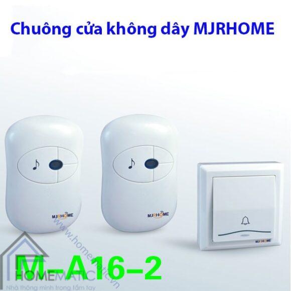 Chuông không dây MJRHOME M-A16-2