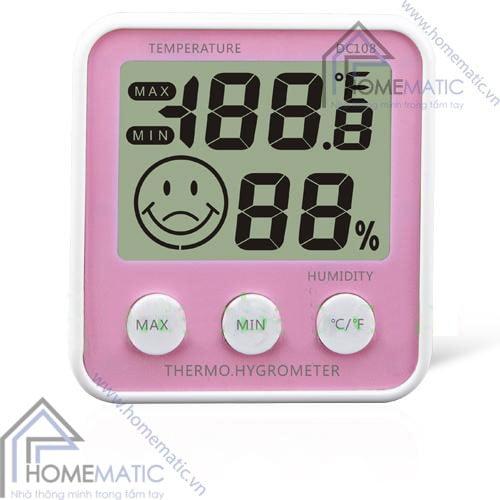 Màn hình hiển thị nhiệt độ, độ ẩm DC108