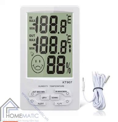 Màn hình hiển thị nhiệt độ, độ ẩm KT-907