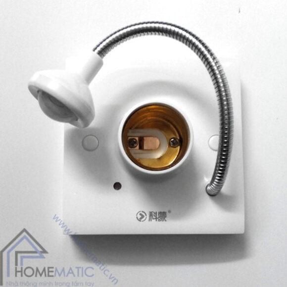 Đui đèn cảm ứng chuyển động thân nhiệt Kimon M-27F