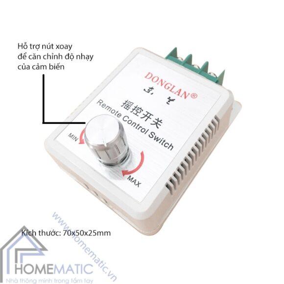 Công tắc cảm ứng âm thanh vỗ tay bật tắt đèn SRS01