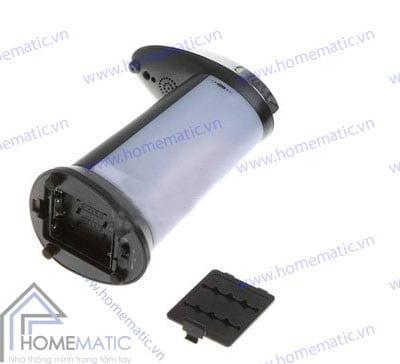 Bình đựng xà phòng cảm ứng tự bơm màu đen SG-B