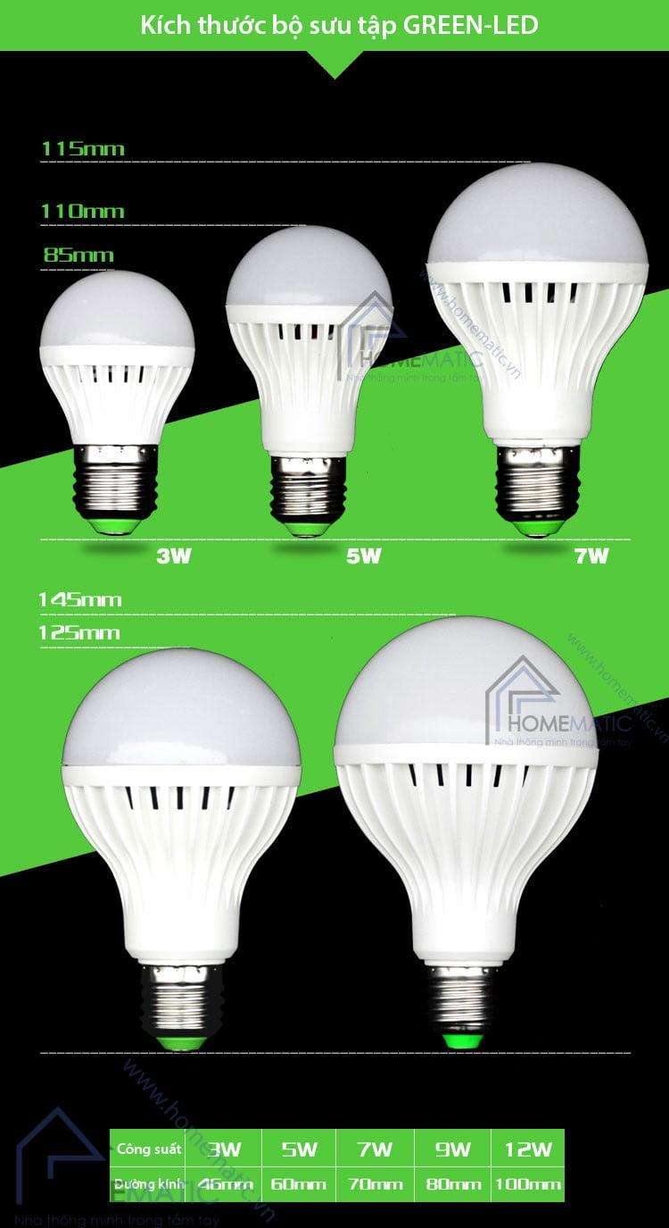 Bộ sưu tập bóng đèn LED GREEN-LED