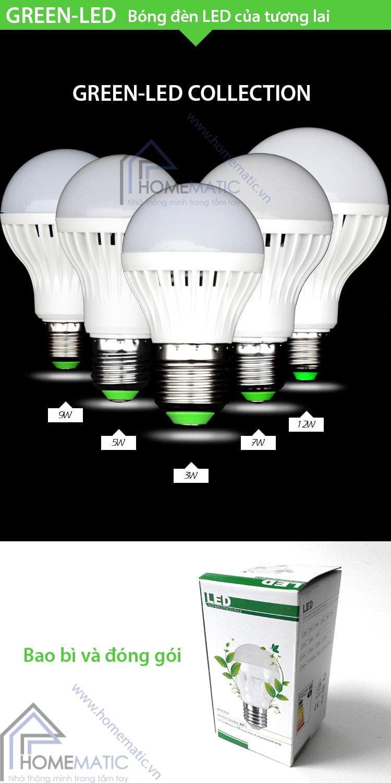 Green-led bóng đèn LED của tương lai