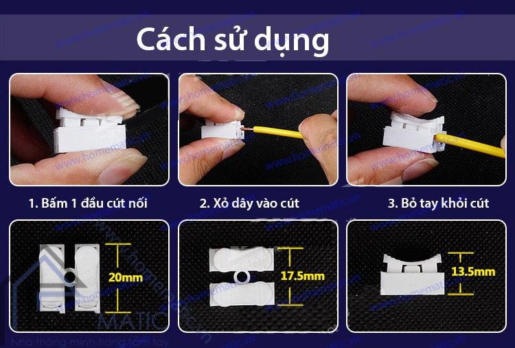 Cút nối dây điện không cần nối dây CH-2