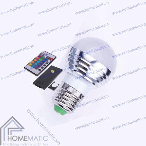 Đèn LED RGB chuyển màu có điều khiển từ xa