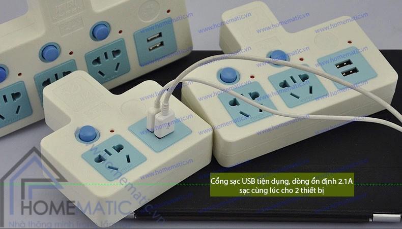 Ổ cắm mở rộng KYFEN USB QF-909C