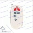Remote điều khiển RF 4 nút màu trắng