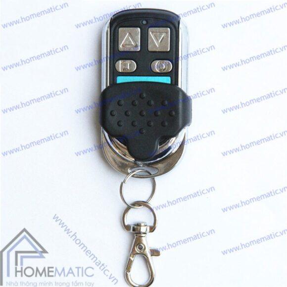 Remote điều khiển RF nút bấm kim loại