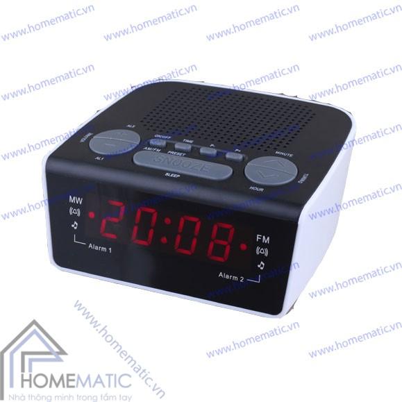 Đồng hồ báo thức kiêm radio