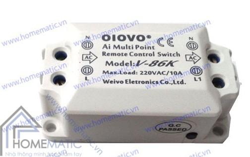 Module công tắc điều khiển từ xa 1 cổng Oiovo V-86K