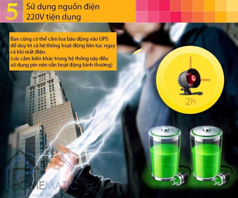 Bộ Kit chống trộm loa nhỏ Seckit01