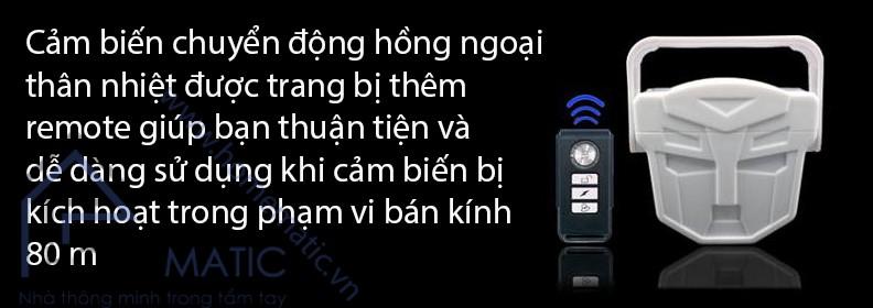 bao dong cam bien chuyen dong hong ngoai KS-SF12R