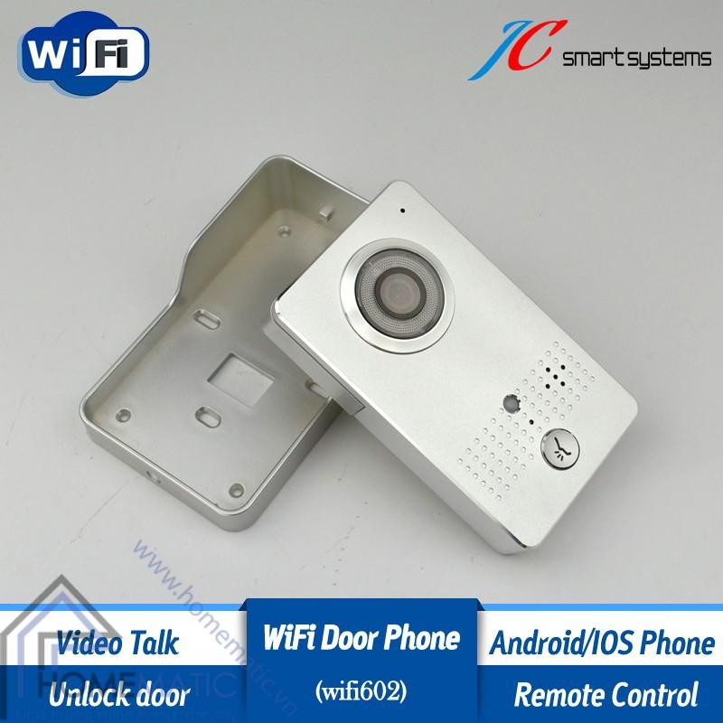 chuông cửa có hình kết nối wifi