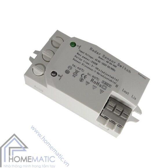 công tắc cảm biến rada vi sóng + ánh sáng có điều chỉnh Allmay AM-RS-06