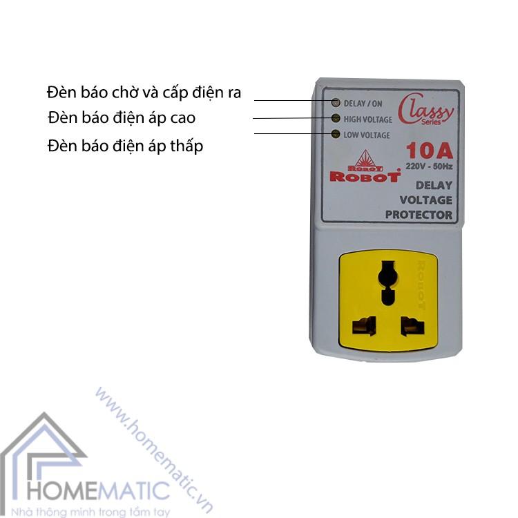 bộ trễ bảo vệ điện áp Delay