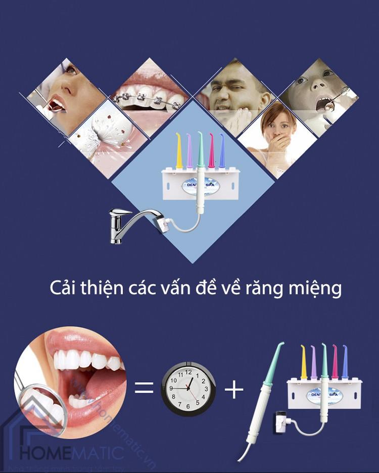 Dụng cụ vệ sinh răng miệng Oral Irrigator