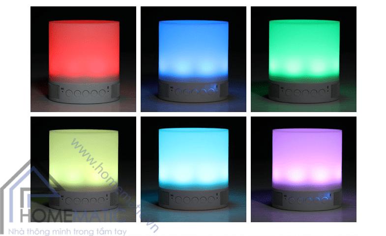 Loa Bluetooth đa năng có đèn D052