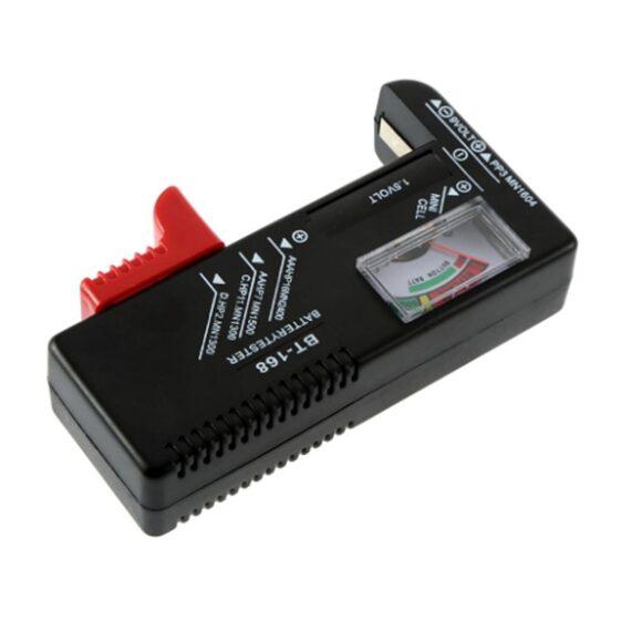 Máy kiểm tra pin BT-168 BT168D có thể dùng test nhiều loại pin khác nhau