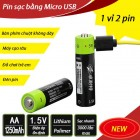 Pin sạc AA bằng cổng Micro USB ZNT5