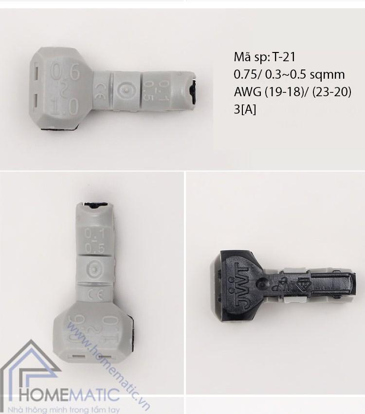 Cút nối dây điện chữ T Hàn Quốc JOWX