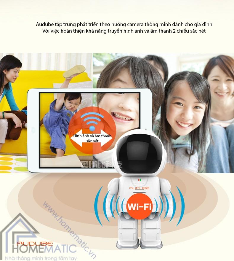 Sản phẩm cần bán: Camera giám sát thông minh Homematic.vn_camera-robot-bao-dong-chong-trom-audube-a1806