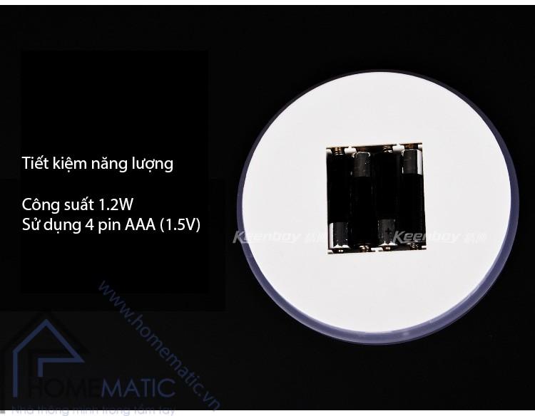 Đèn led cảm ứng chạm dimmer TOUCHME TM-YELLOW