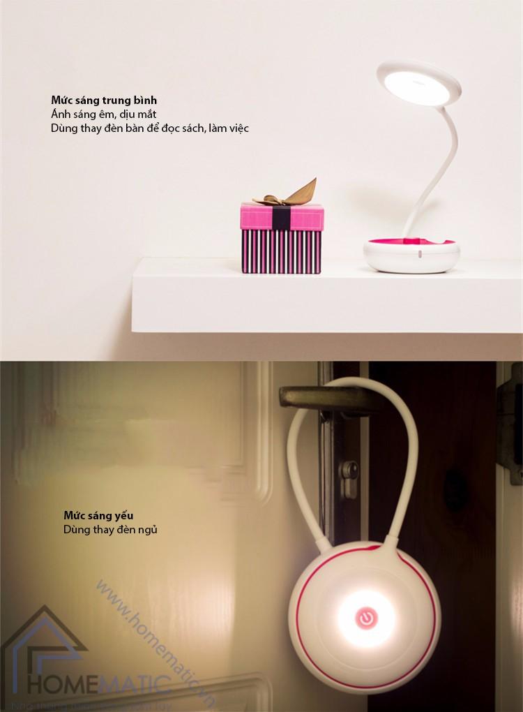 Đèn led pin sạc đa dụng để bàn, dã ngoại YOYO JP-SXD