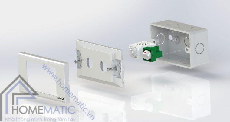 Công tắc cảm biến chuyển động hồng ngoại BATTO BTX-2C-PIRV1 tự động bật đèn khi có người đi vào vùng cảm ứng và tự động tắc khi không có người