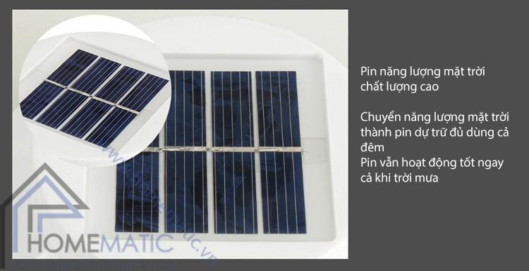 Đèn LED năng lượng mặt trời cảm biến ánh sáng SLS1721