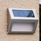 Đèn LED năng lượng mặt trời cảm quang cầu thang, hành lang SLS1708I
