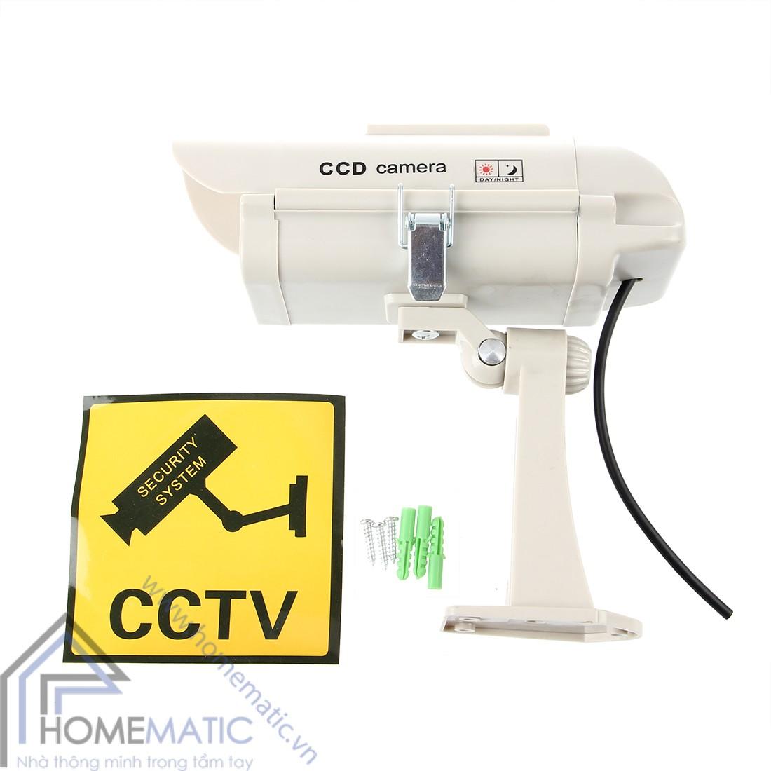 Camera mô hình chống trộm hỗ trợ pin năng lượng mặt trời SOF-CAM