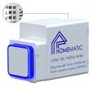 Công tắc điều khiển từ xa RF HOMEMATIC HMX-3S-TRFV1 (hạt vuông)
