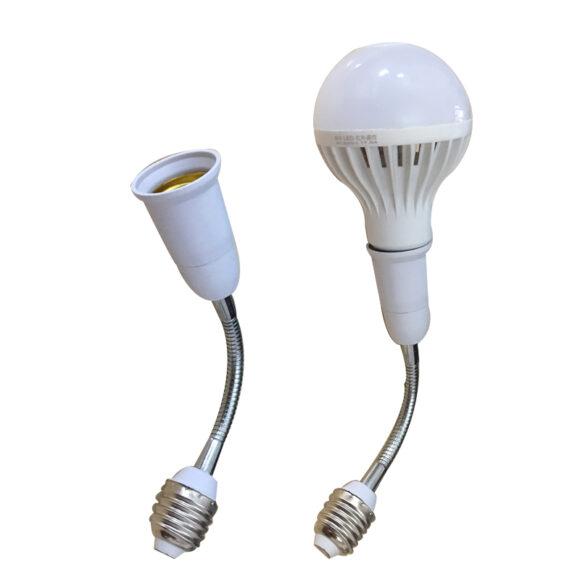 Đui đèn xoay 360 độ chuẩn E27 GREENLED LHSE18