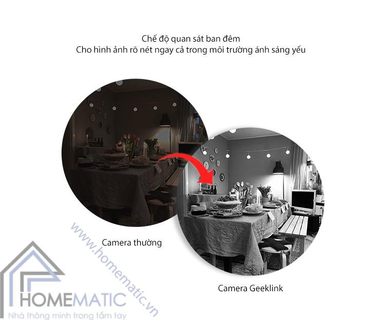 Camera IP an ninh thông minh Geeklink GC-2