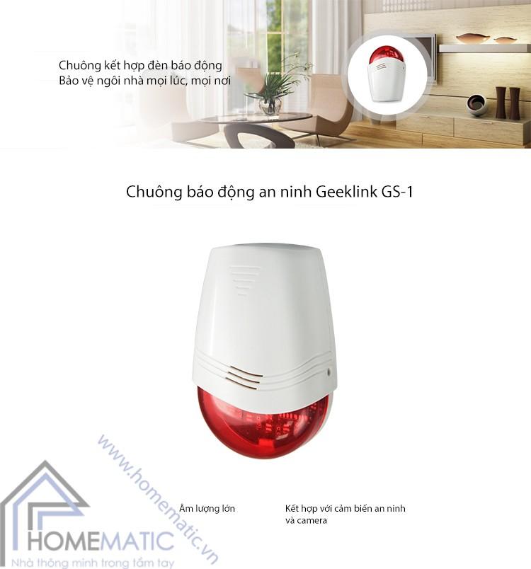 Chuông báo động an ninh Geeklink GS-1