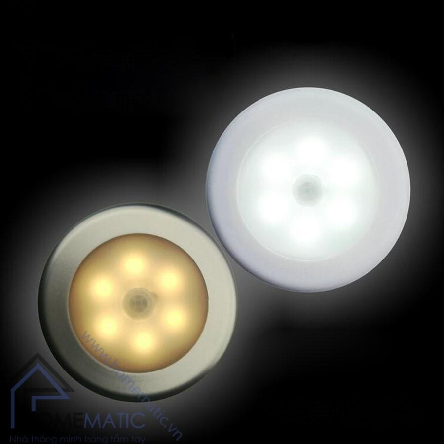 Đèn ngủ cảm biến thân nhiệt dùng pin DDS37