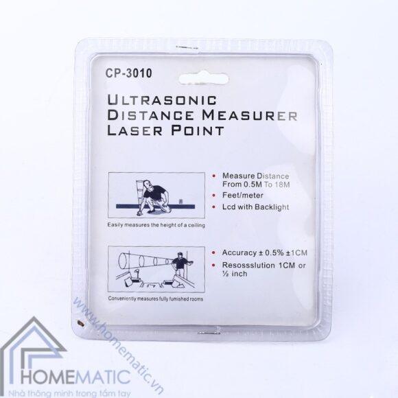 Thước đo khoảng cách bằng siêu âm kiêm nivo CP3010